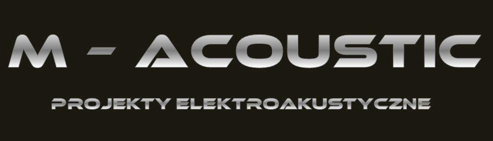 M-Acoustic – Projekty Elektroakustyczne